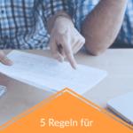 5 Regeln für Interessante Inhalte
